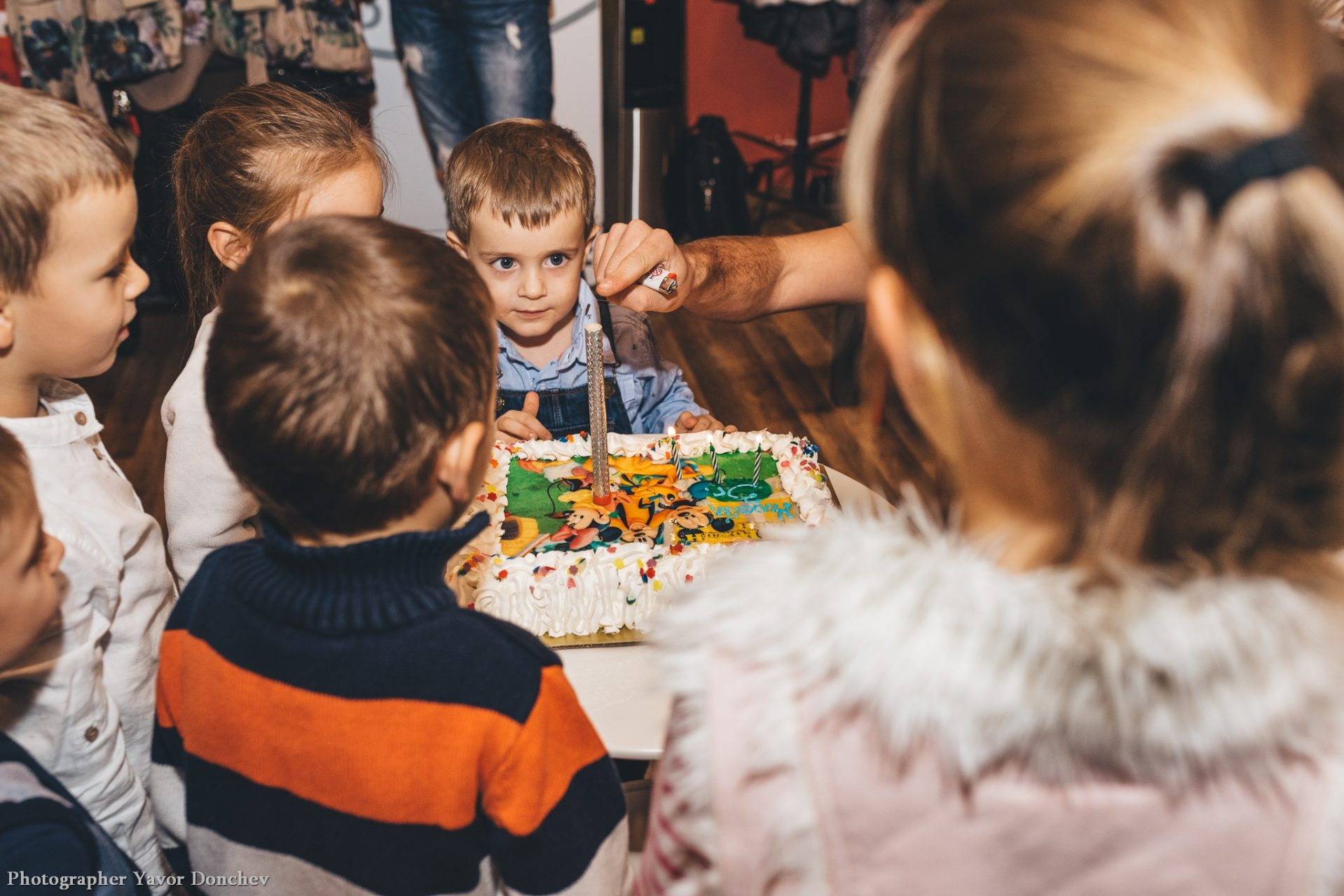 Детски Рожден Ден на Михаил Фотогр