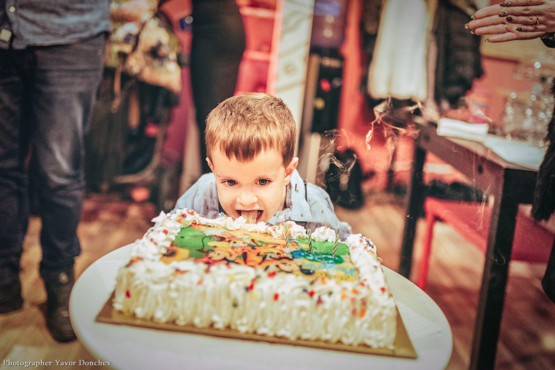 Детски рожден ден на Мишо