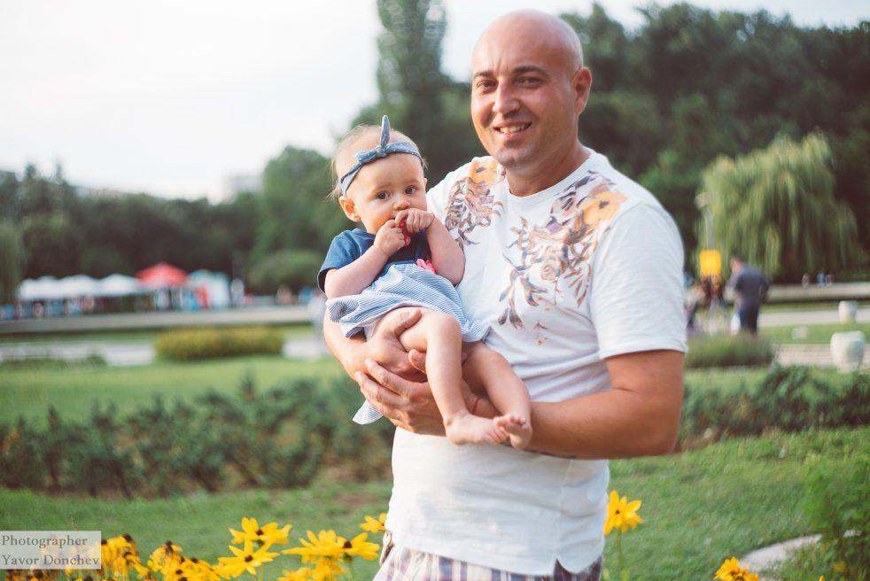 Бебешка фотосесия на Йоана