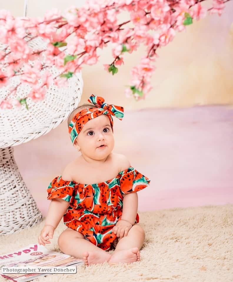 Бебешка фотосесия на Виктория