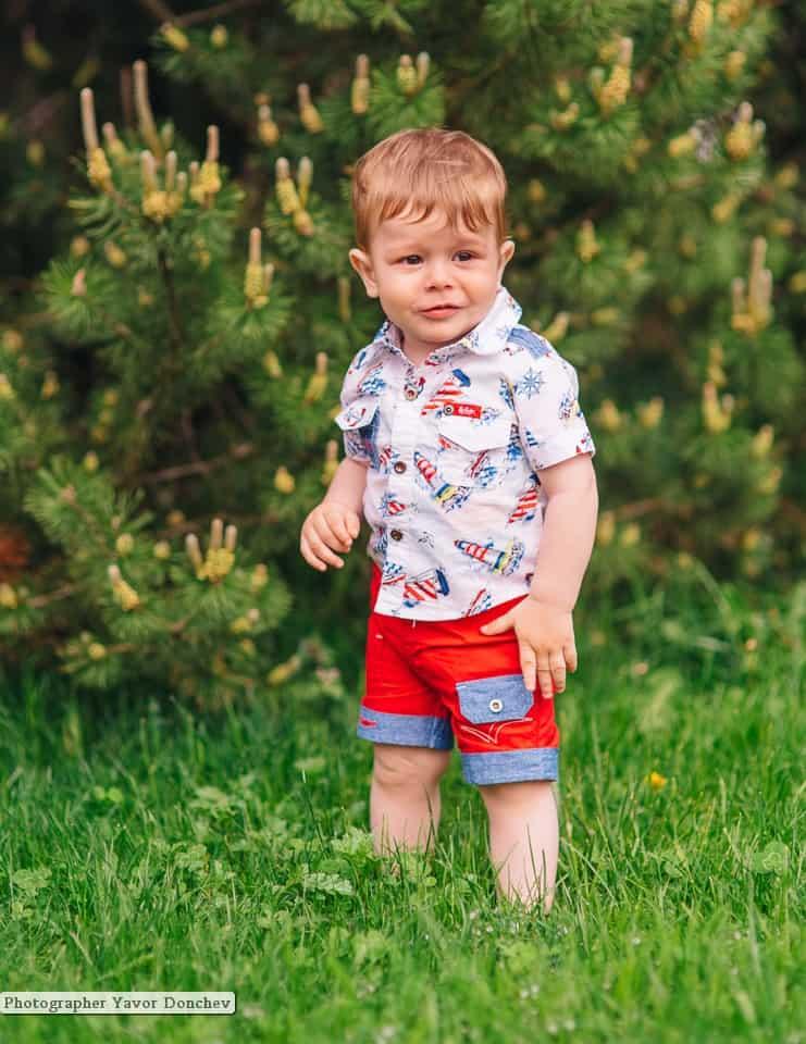 Бебешка фотосесия на Сонер