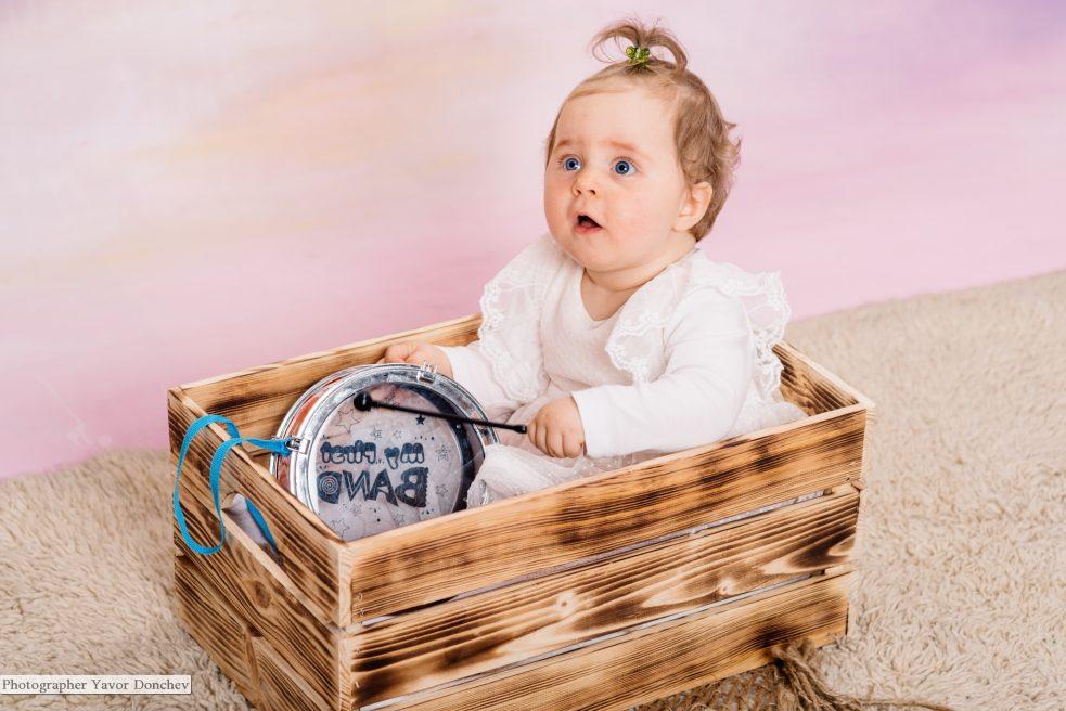 Бебешка фотосесия на Алина