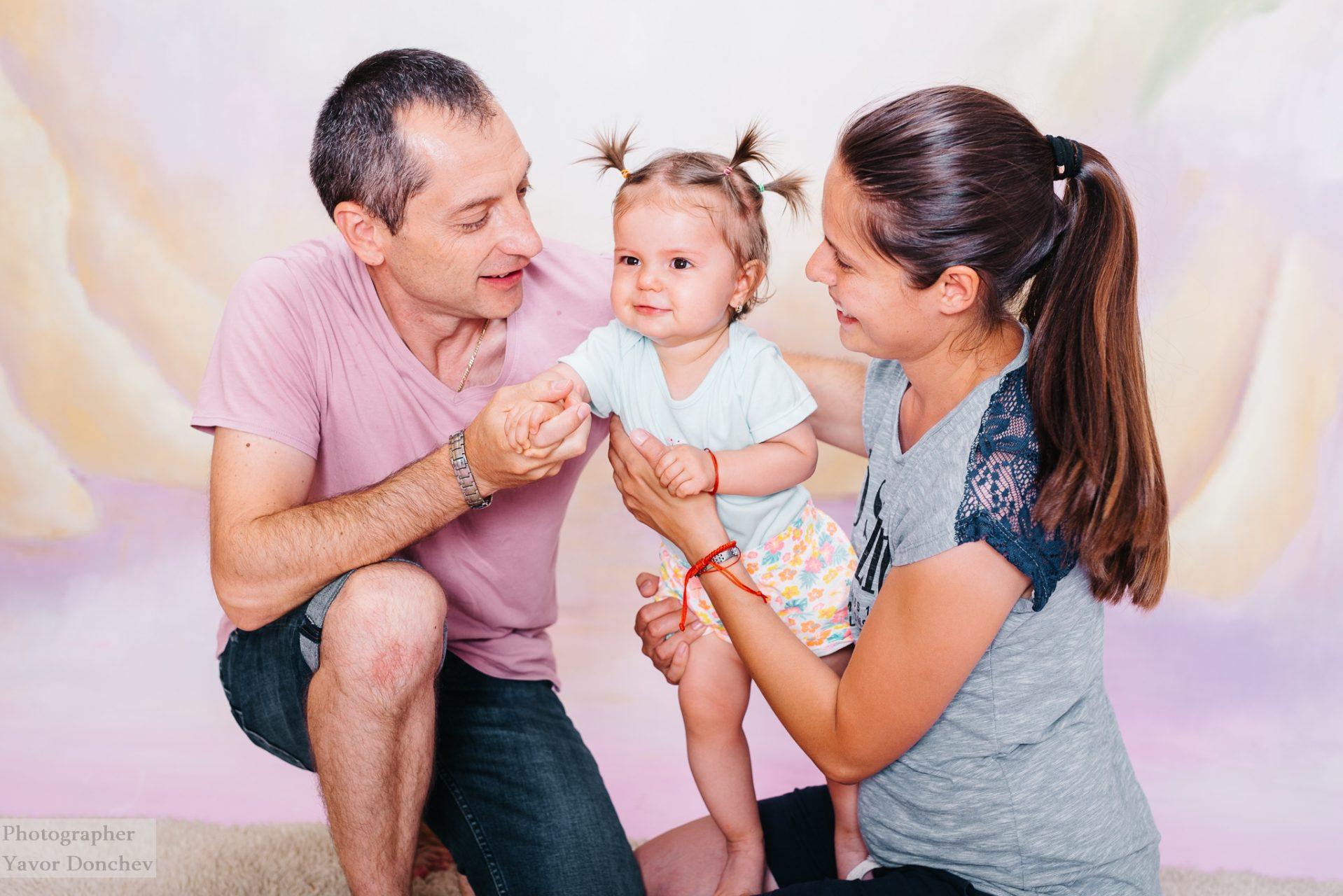 Бебешка фотосесия на Ангела