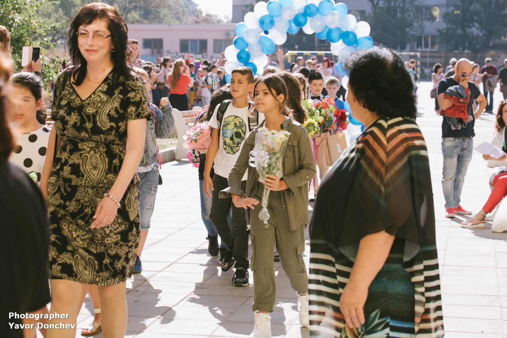 """Първият учебен ден-16 ОУ """"Райко Жинзифов"""""""