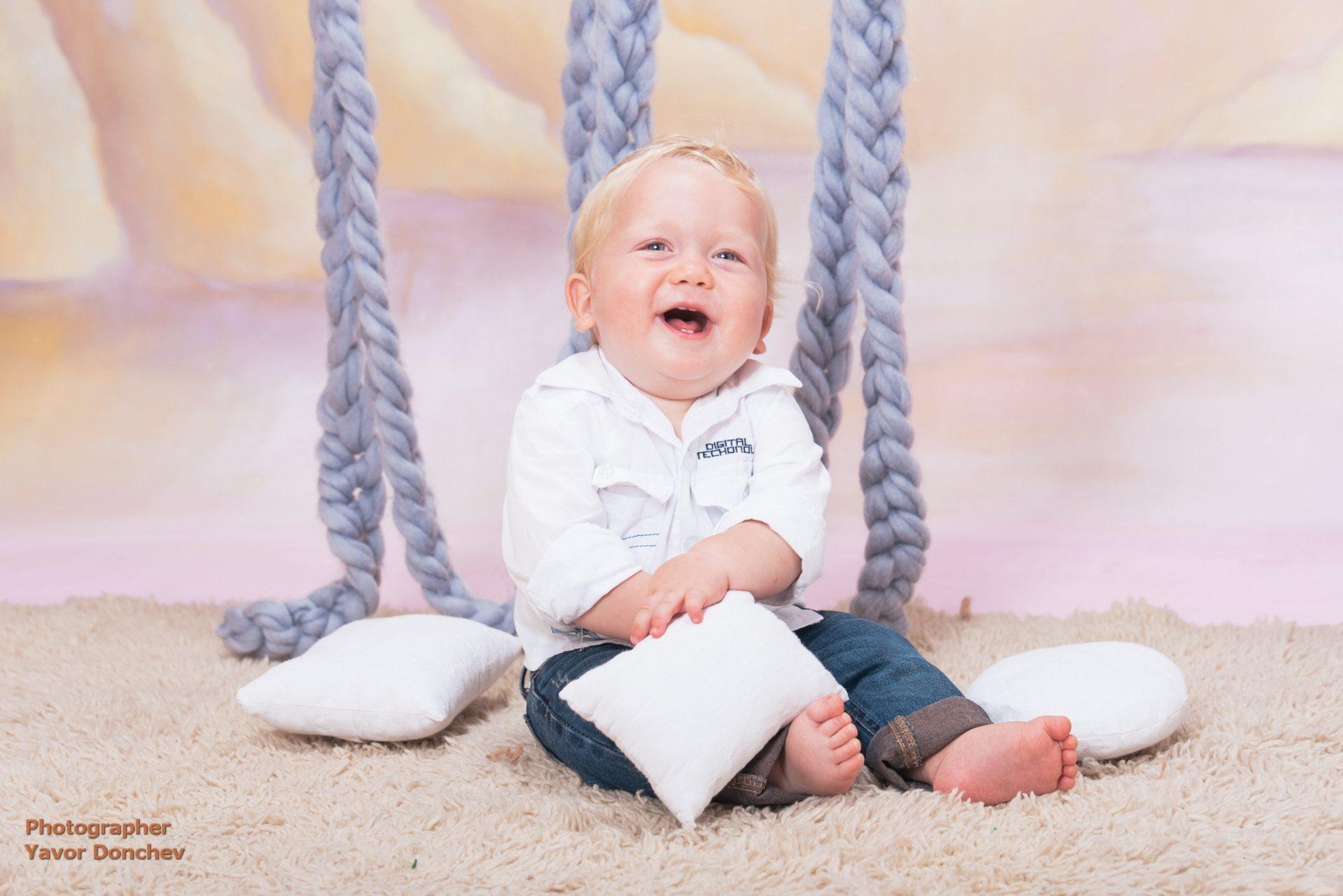Бебешка фотосесия на Тервел