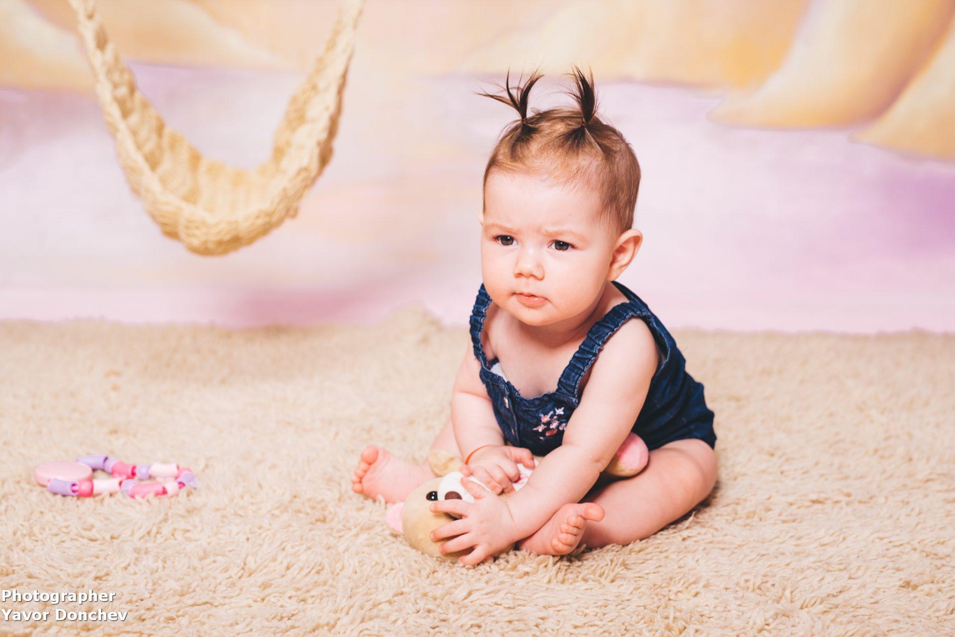 Бебешка фотосесия на Катрин