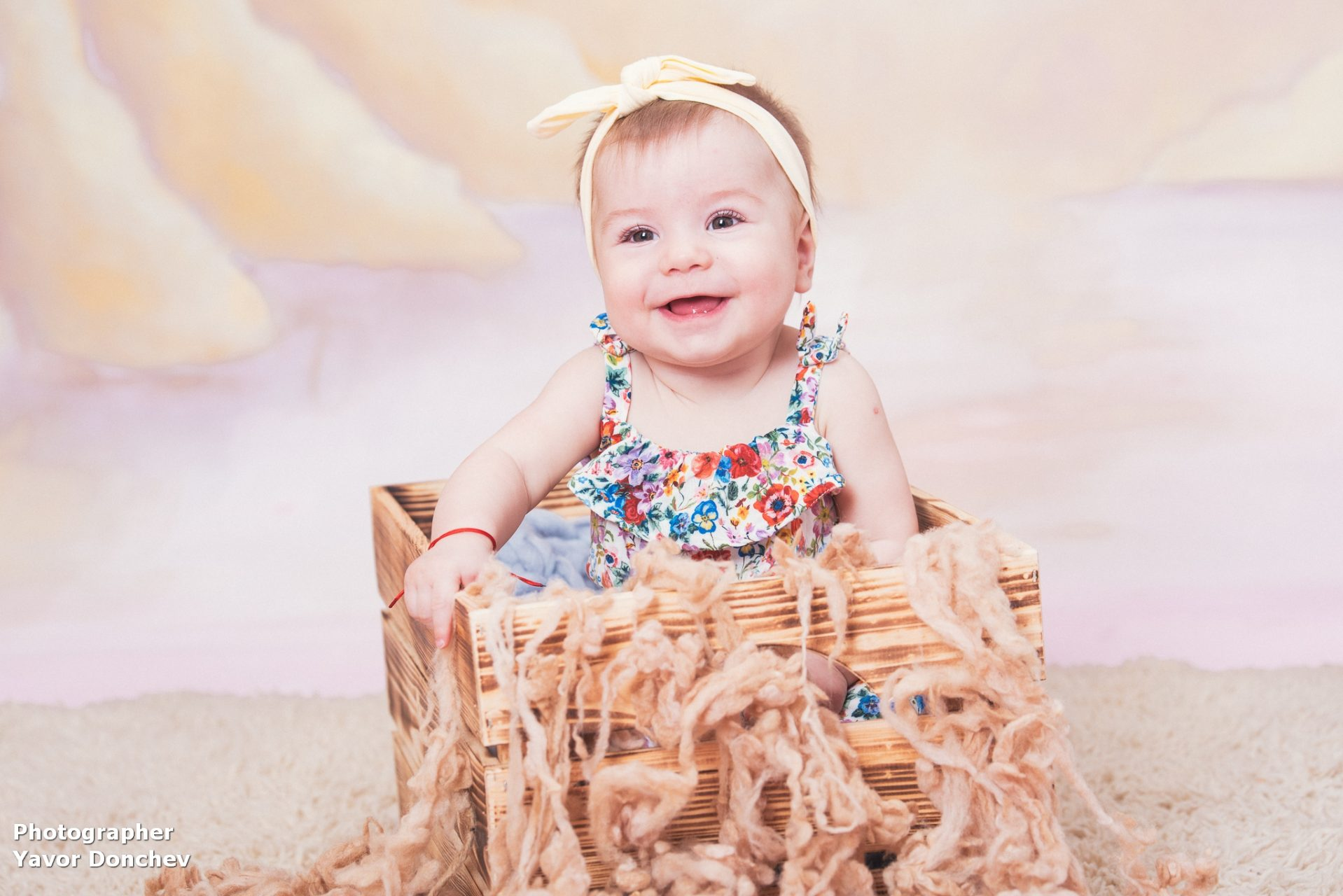 Бебешка фотосесия на Сияна