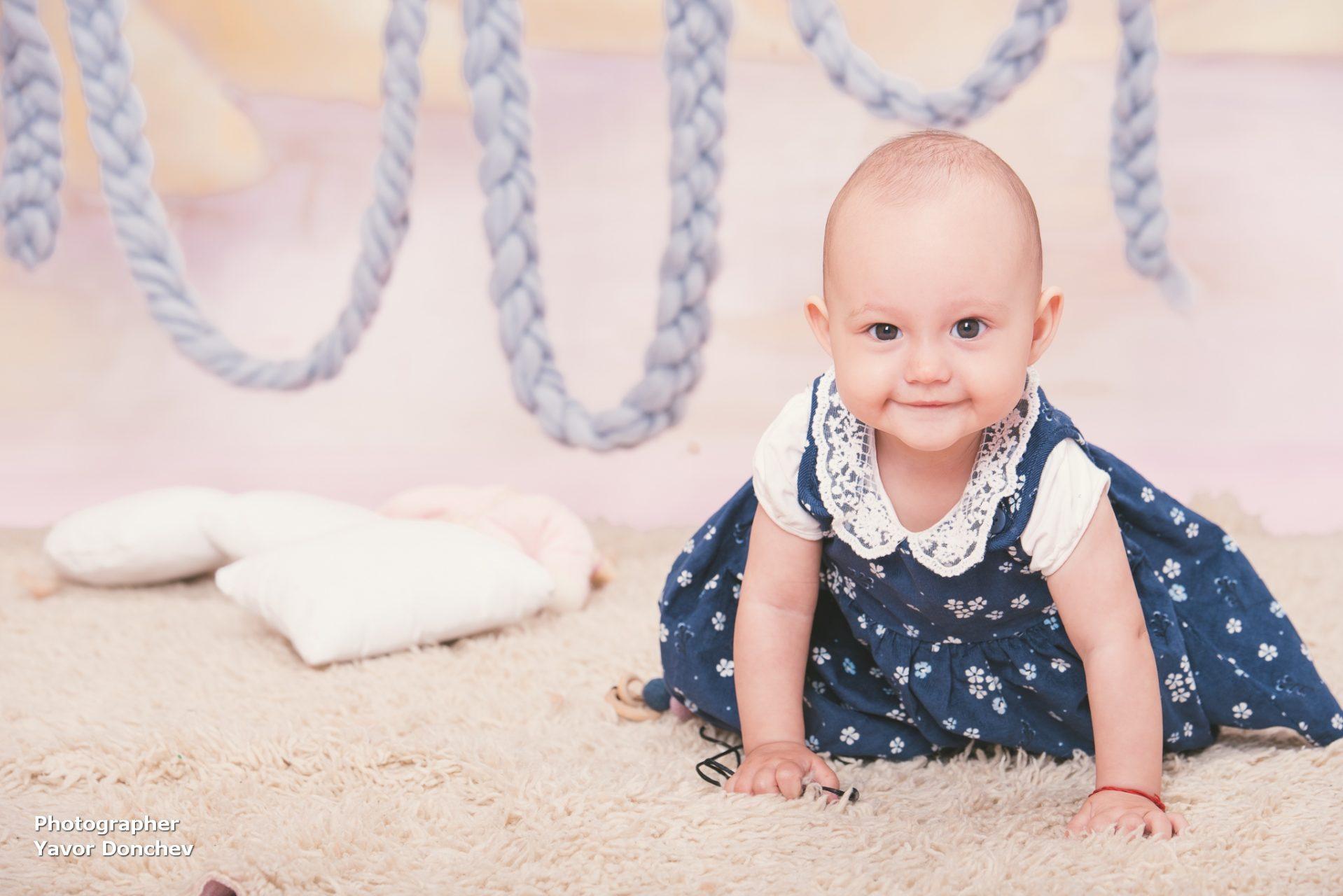 Бебешка фотосесия на Вяра