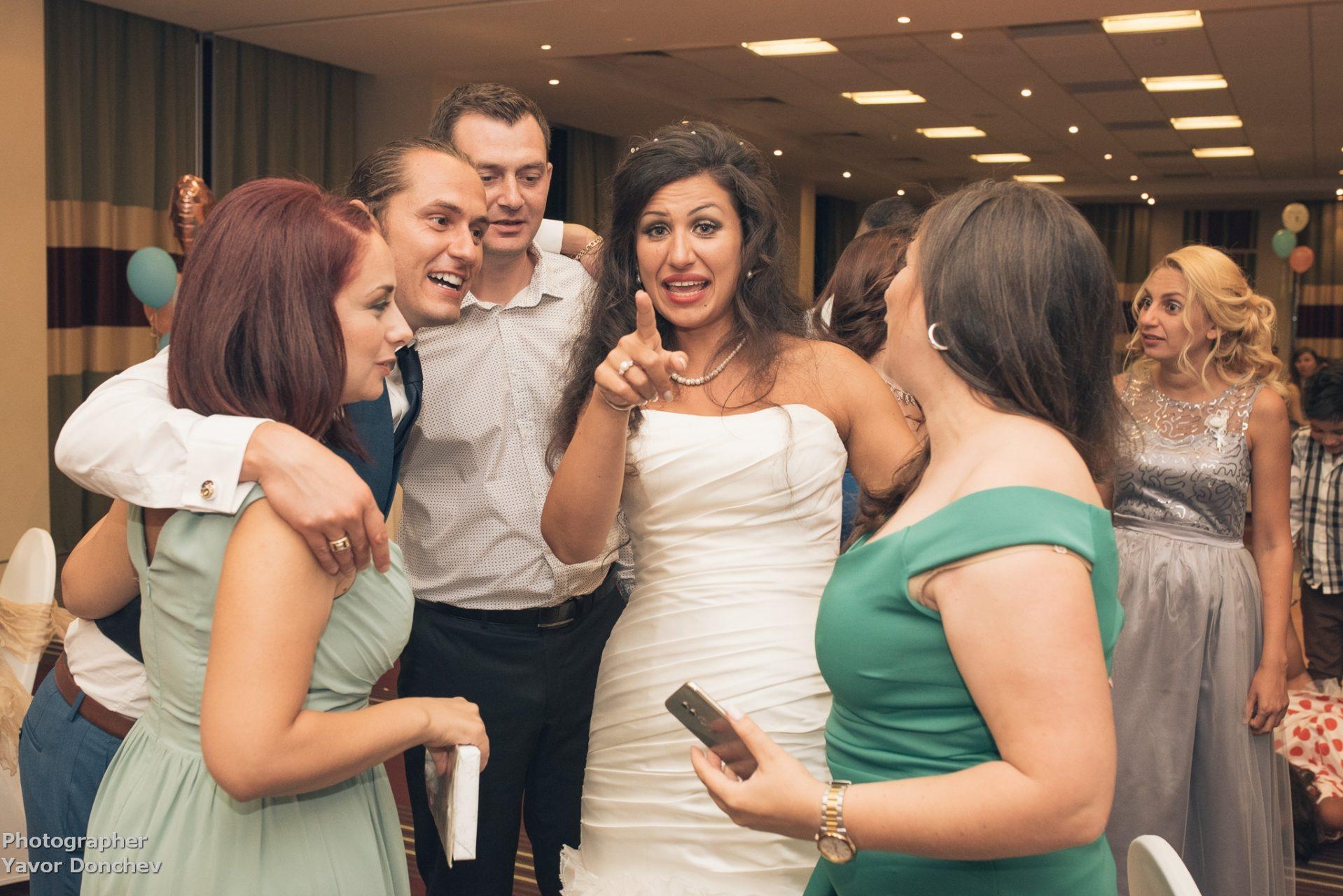 The wedding of Miglena and Richard