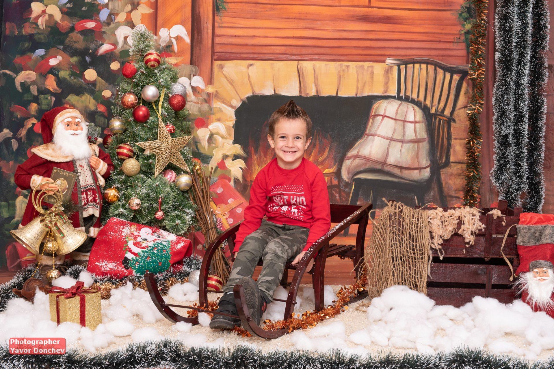 Коледна фотосесия на Калинка и Мишо