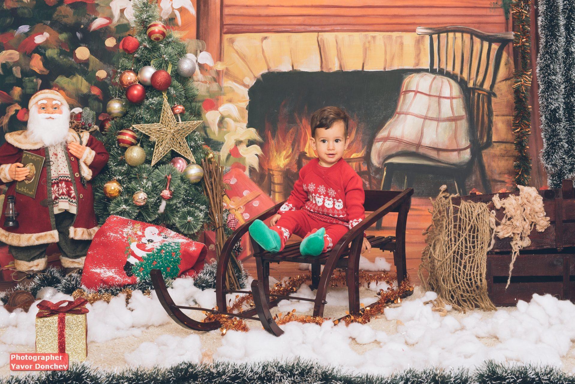 Коледна фотосесия на Ивайло
