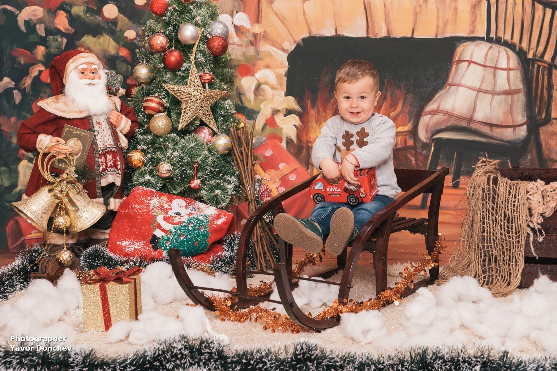 Коледна фотосесия на Любомир