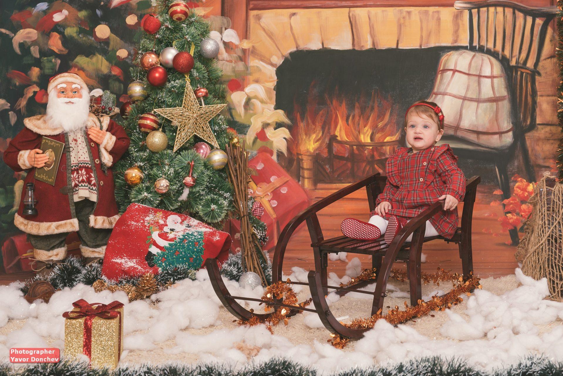 Коледна фотосесия на Никол