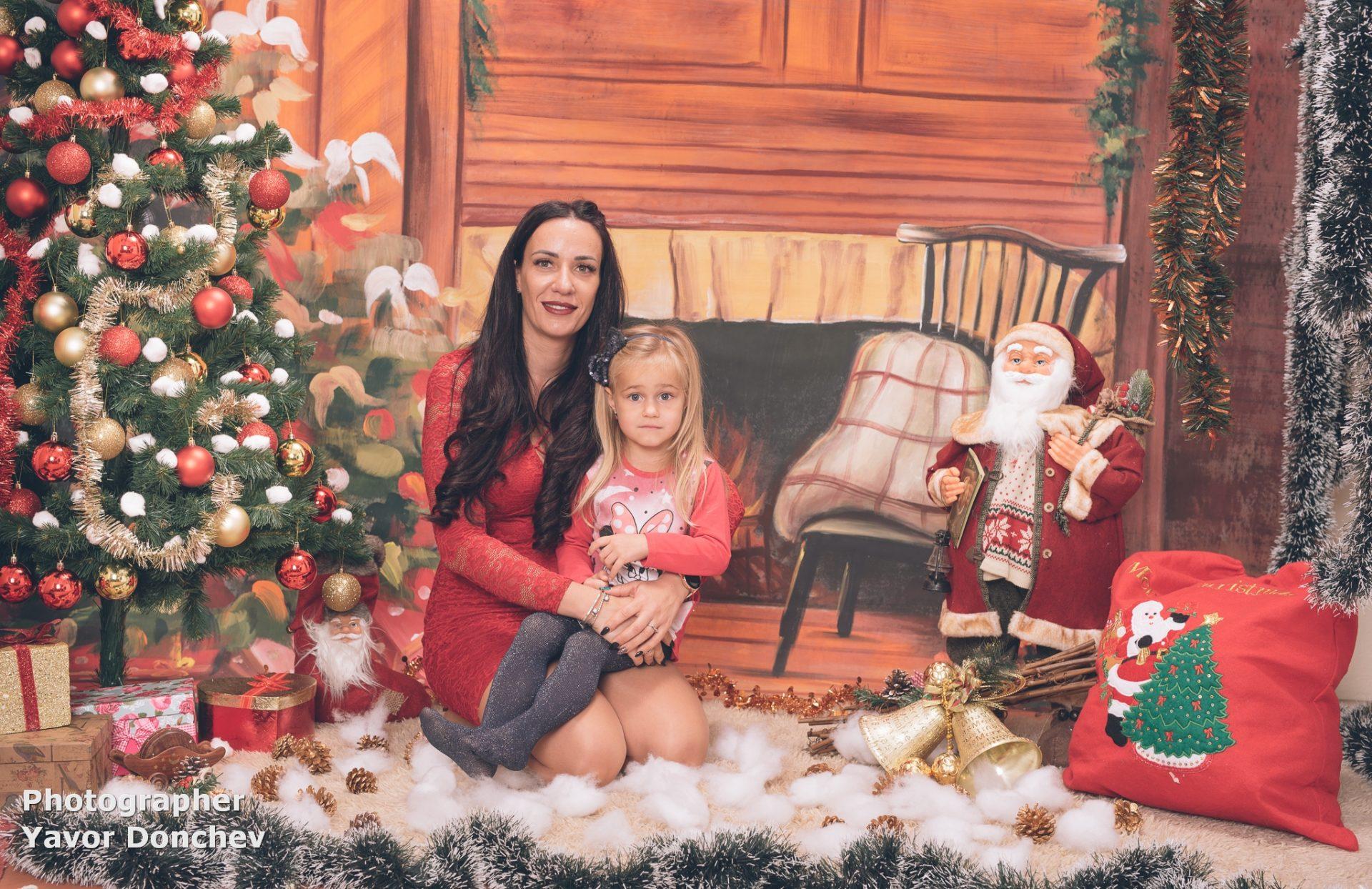 Коледна фотосесия на Калинка и Мишо 2020